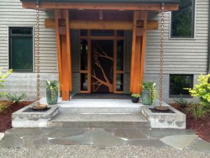 Pennsylvania Blue Stone Entry, Door by Randy Kirk